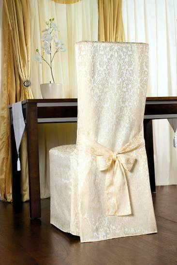Jacquard chair cover
