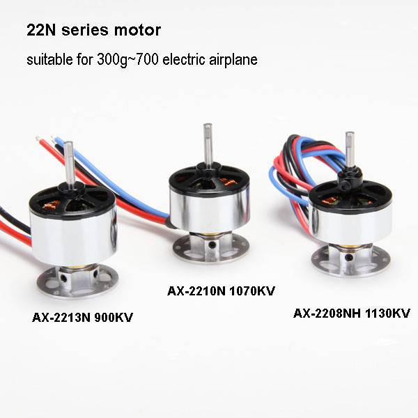 Brushless Outrunner Motor AX2208N 1130Kv For rc Airplane Aircraft Quadcopter