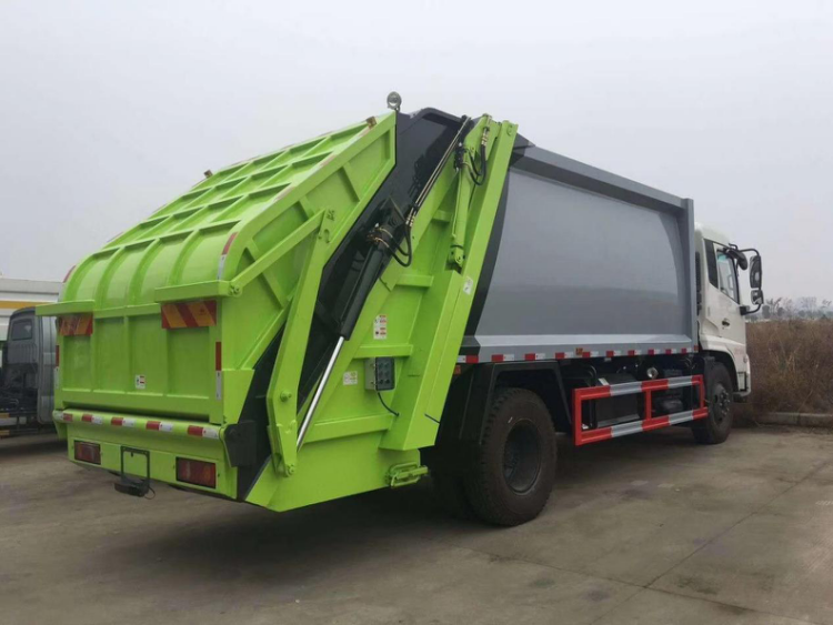 12CBM Compactor Garbage Truck