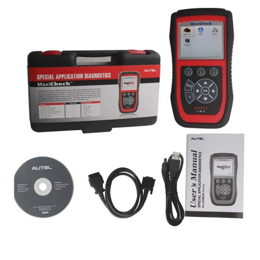 Autel MaxiCheck Airbag/ABS SRS Light Service Reset Tool Original Special Application Diagnostics