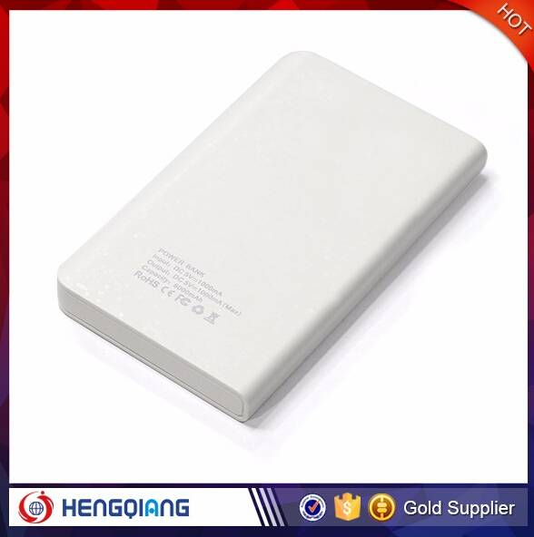Factory Price High Quality 5000mAh Power Bank Dual USB Power Bank Different Colors