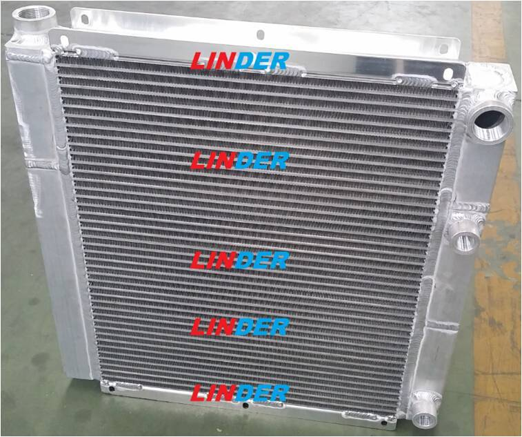 oil air cooler for screw compressor