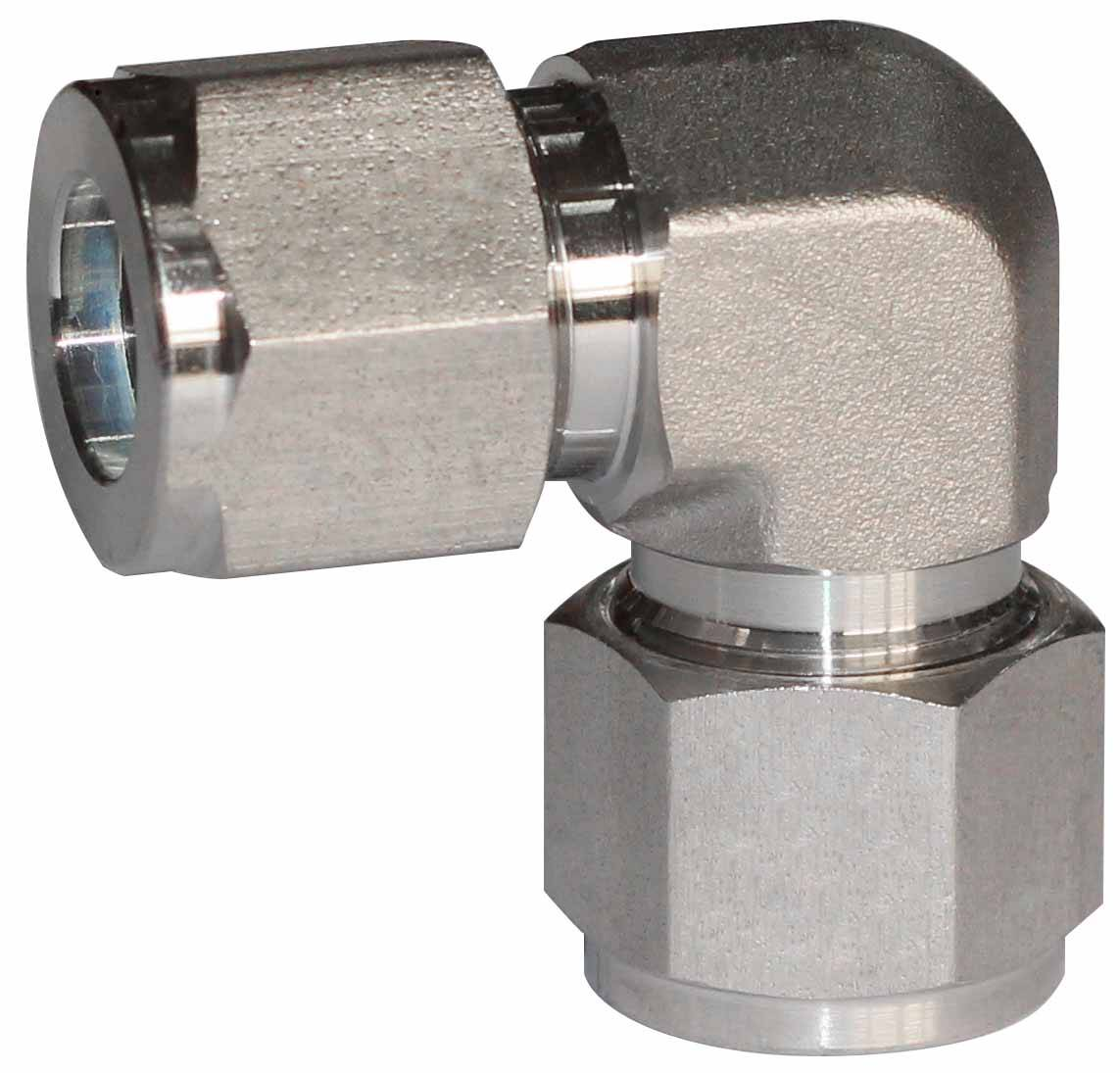 SS316 union elbow,double ferrules,1/2OD,16Mpa