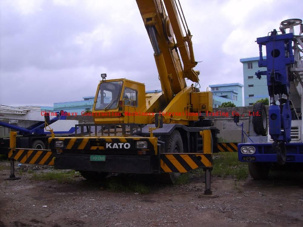 KATO 50T Cross-country crane