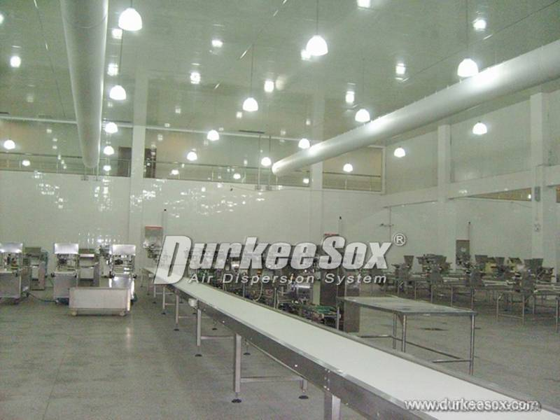 Fabric ducting is Popular in Food Industry