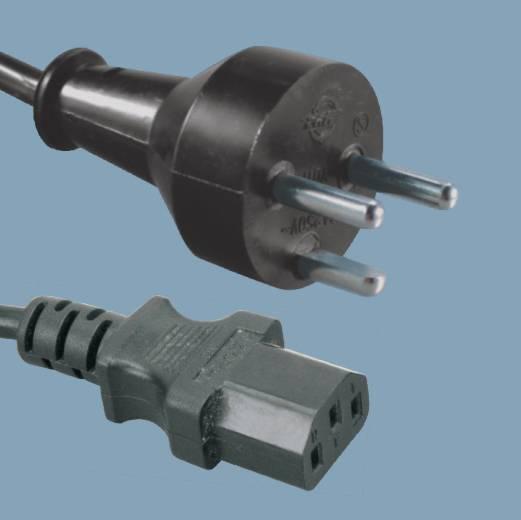 Denmark Den standard Power cords with plugs