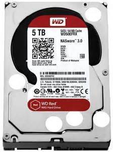 Western Digital WD50EFRX WD Red 5TB NAS Internal HDD Desktop Hard Drive Disk
