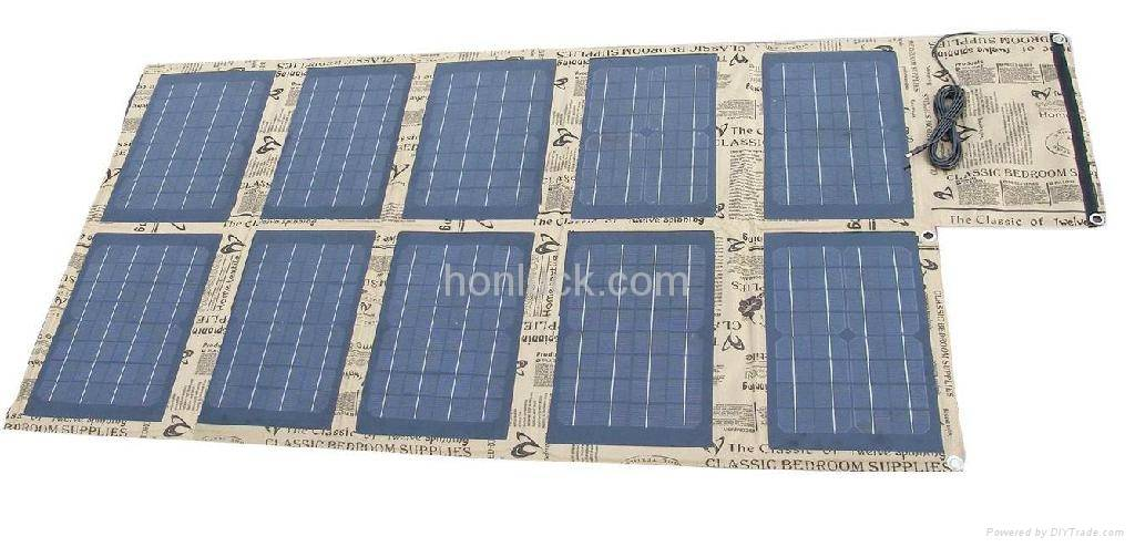 100W Solar Panel Foldbalbe solar charger for mobile device