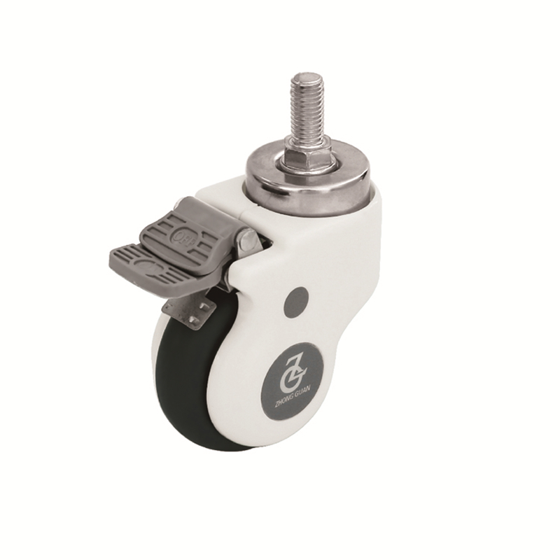 49 series luxury casters wheel with cover