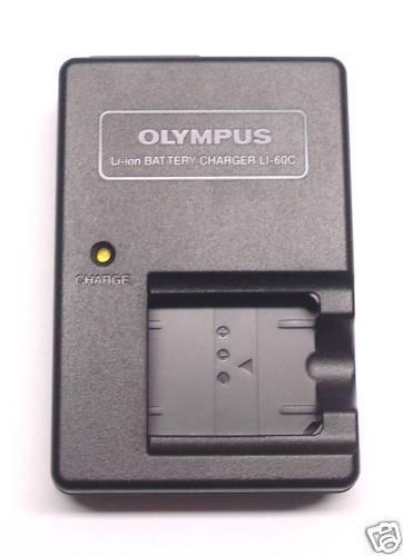 Olympus LI-60C LI60C Battery Charger For LI-60B FE-370