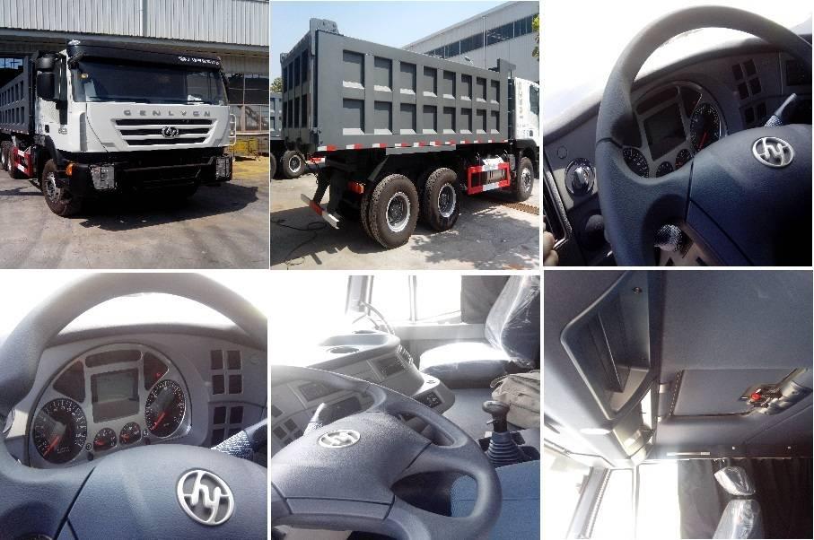 IVECO GENLYON CURSOR 64 dump truck
