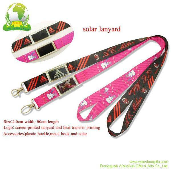Selling Solar Lanyards with Printing Logo