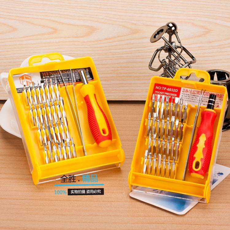 Hardware Screw Driver Tool Kit , 32PCS IN ONE