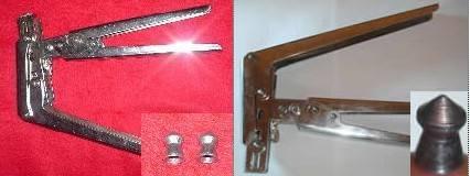 Making Air gun pellet pliers lead pellets bullet ball shot tooling dies pincers tools tooling DIY