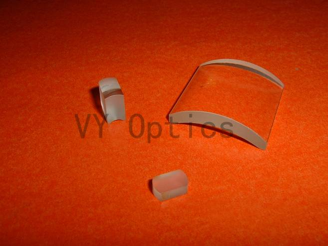 optical BK7 Fused silica plano convex concave cylindrical lens