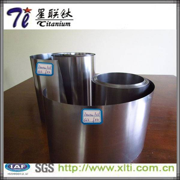 Cold Rolled Gr5 Annealed Titanium Foil with thickness 0.4mm