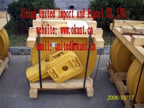 EXCAVATOR IDLER FOR PC60,PC200,PC300,PC400