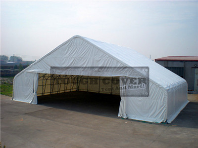Large clearspan 20m(65') wide Warehouse Tent, Industry prefabricated steel building
