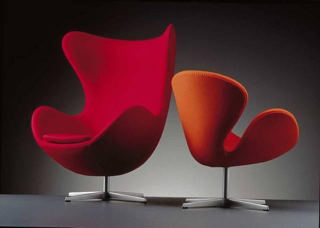 swan chair/egg chair