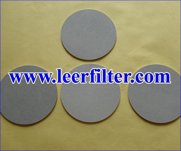 Titanium Powder Filter Disc