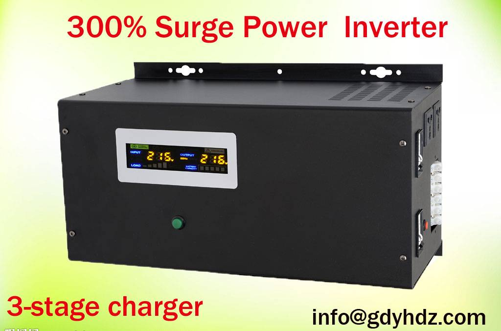3500W 24V Pure Sinewave Inverter with 300% Surge Power Protection