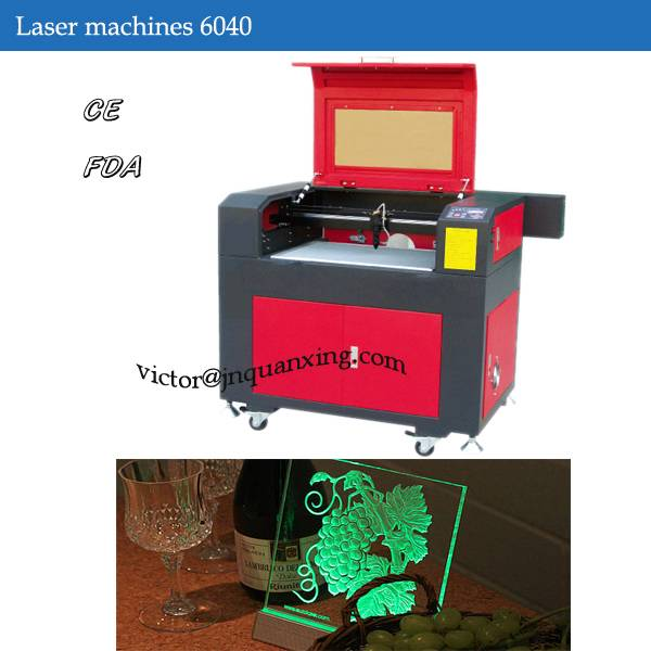 Acrylics Laser engraving machine