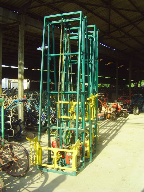High power upgrade mini sugar cane loader