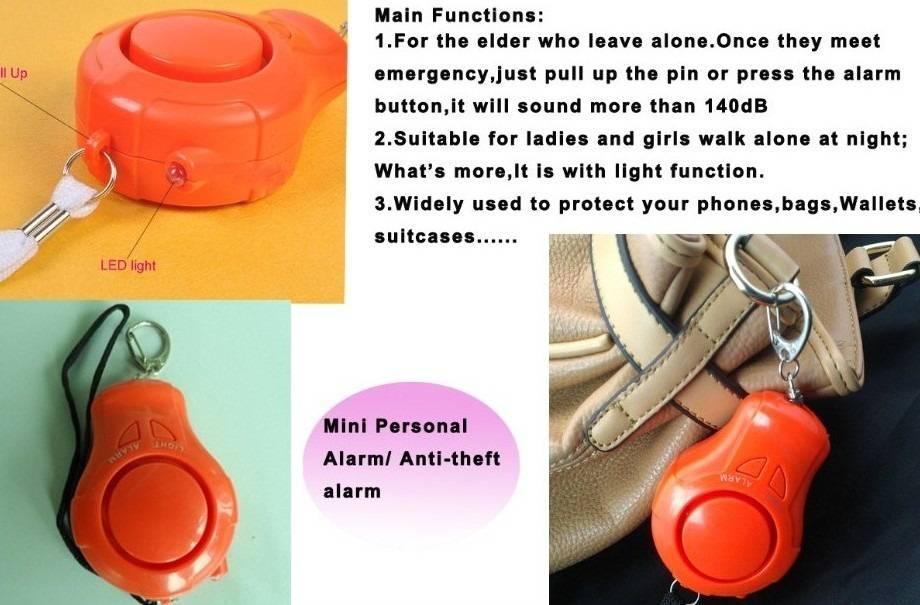 ETE-3303 Loud sound Personal Emergency Alarm