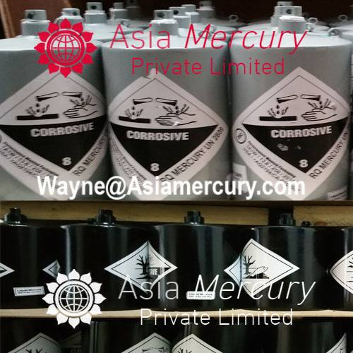 Pure Virgin Silver Liquid Mercury