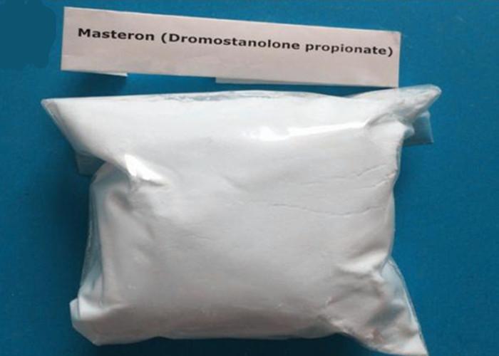 Effective White Natural Steroids Drostanolone propionate Powder CAS 521-12-0
