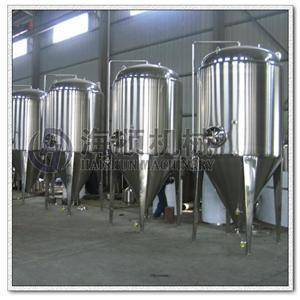 1000L fermenter with cooling jacket and insulation