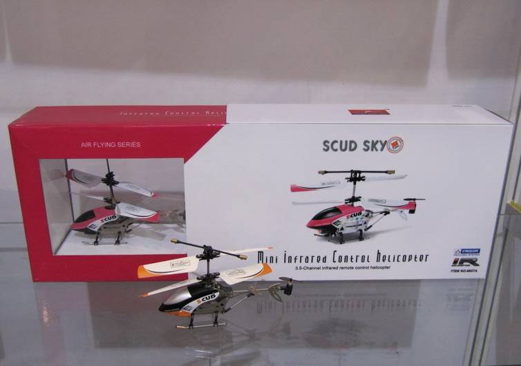 SCUD SKY-RC Helicopter - Remote Control Helicopter - RC Heli -3CH RC AIRPLANES-MINI IR COPTERS(Gyro)