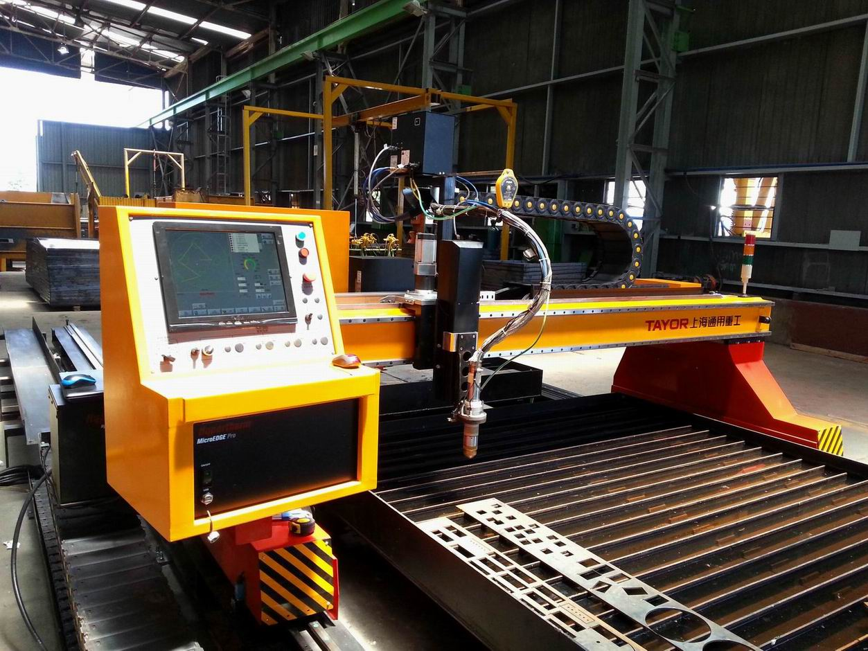 Heavy Duty CNC Plasma Cutting Machine