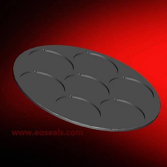 Sintered silicon carbide tray