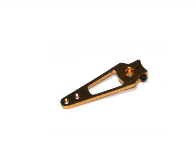 High Quality orange 50mm 25T Half Size Metal Servo Arm for futaba Servo