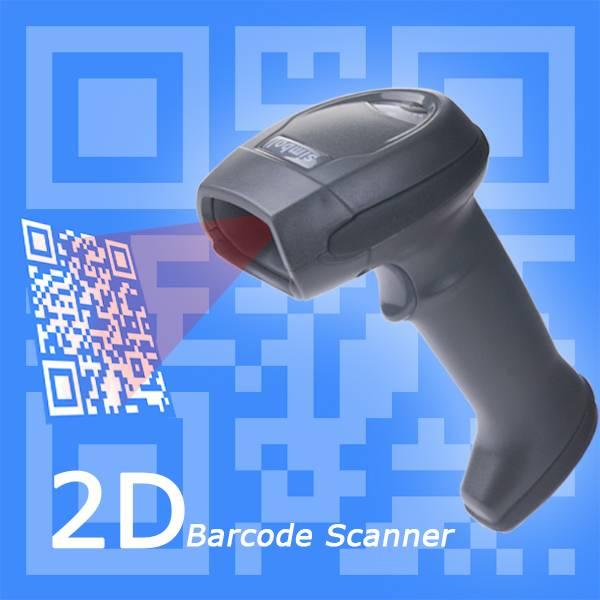 XB-6278 handheld USB 2D QR barcode scanner