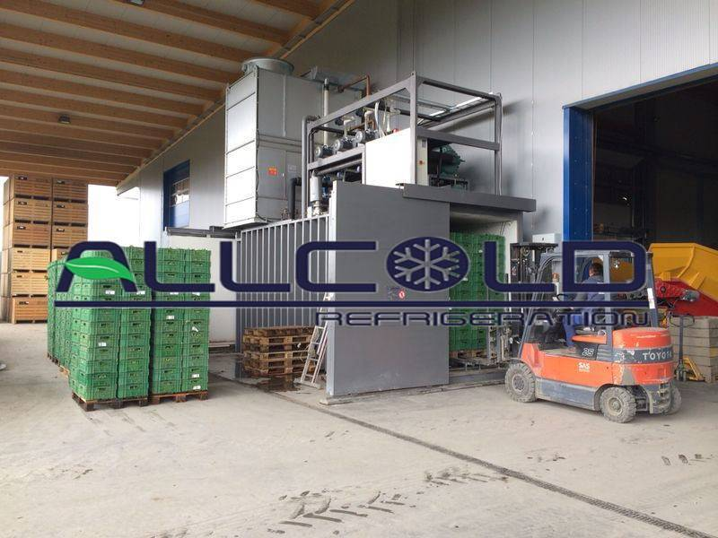 ALLCOLD Fast Cooling Speed Vacuum Cooling Machine For Vegetables