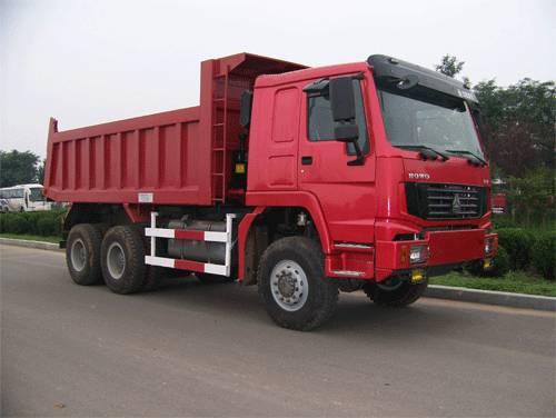 SINOTRUK HOWO All-Wheel Drive Tipper / Dump Truck(4x4,6x6)
