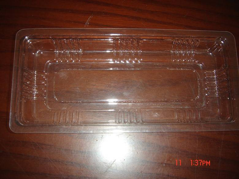 Clear Food Tray