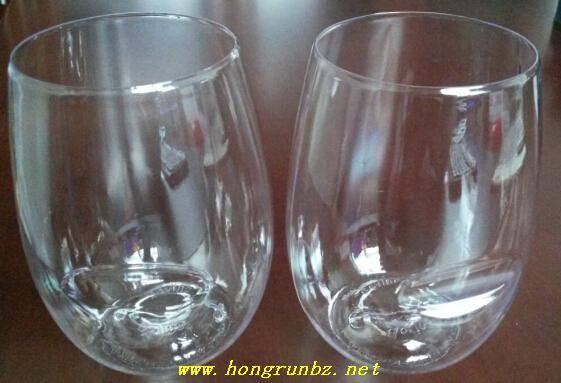 PETG plastic glasses