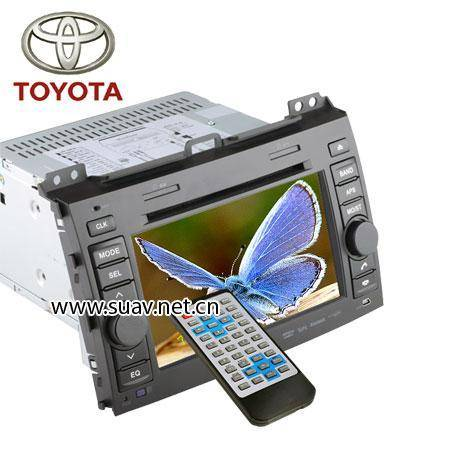 TOYOTA PRADO Special Car entertainment system DVD player TV,bluetooth,GPS