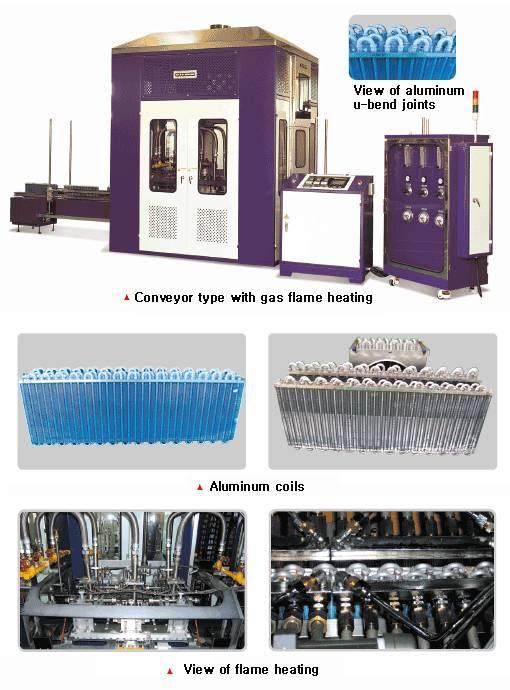 Al coil brazing machines