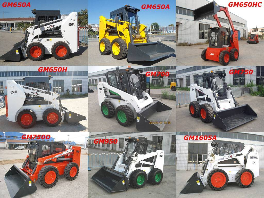 skid steer loader with competitive price