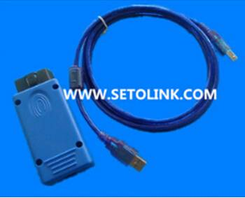 16 Pin USB OBD cable with housing & connectors,auto diagnostic cable
