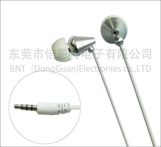 Bottom price popular brand earphone based on client design