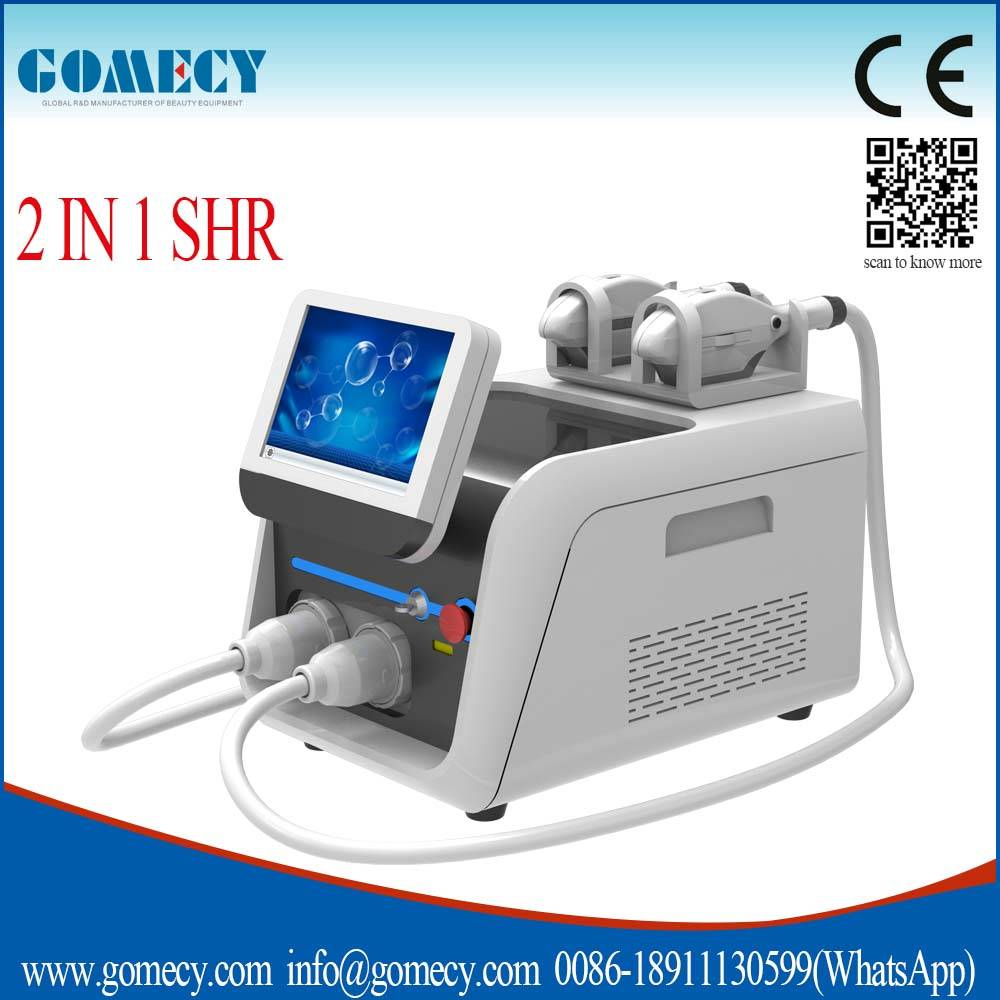 2016 new arrival 20 times faster than ipl hair removal super ipl laser shr machine / opt shr