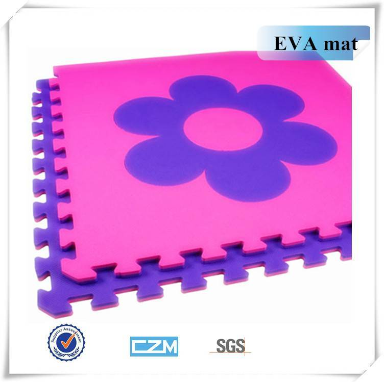 The five-star flower EVA floor Mat