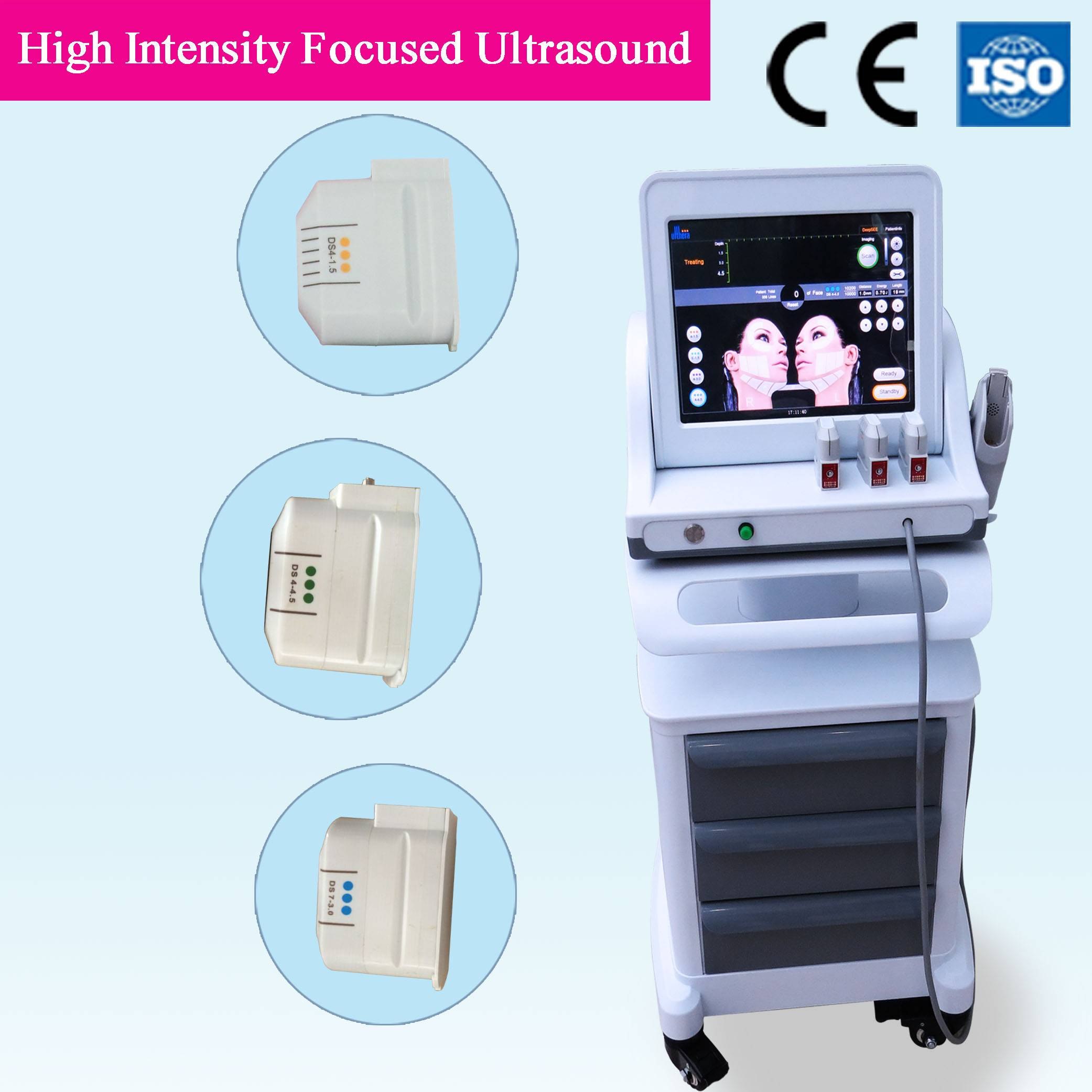Hifu Laser Device for Skin Rejuvenation