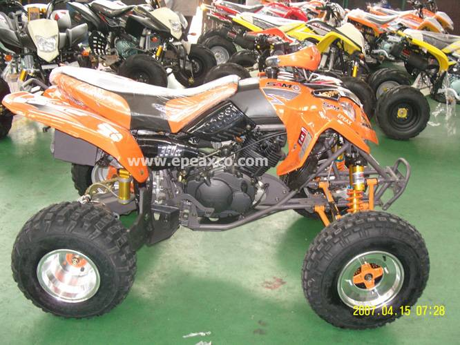 predator style atv for 350cc with ballonet absorber
