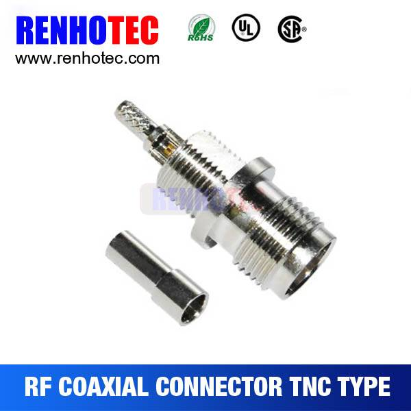 Crimp Type Female TNC Connector